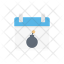 Firecracker Celebration Calendar Icon