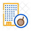 House Bomb Crash Icon