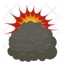 Bomb Explosion Flame Burst Fire Explosion Icon