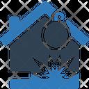 Bomb explosion Icon