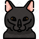 Bombay Cat Cat Face Icon