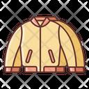Bomber Jacket Icon