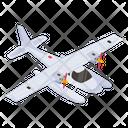 Bomber Jet Icon