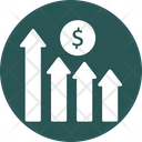 Bond Rates Financial Plan Investment Graph Icon