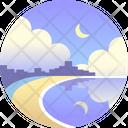 Bondi beach Icon