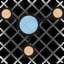 Bonding Connection Network Icon