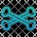Bone Cross Danger Icon