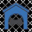 Bone Dog House Icon