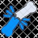 Bone Fracture Icon