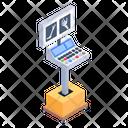 X Ray Machine Bone Radiology Machine Radioscopy Icon