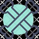 Bones Danger Crossbones Icon