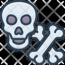 Bones Crossbones Skull Icon