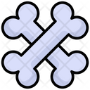 Bones Skeleton Medical Icon