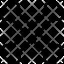 Bones Human Crossed Icon