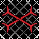 Bones Cross Scary Icon