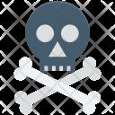 Bones Danger Skull Icon