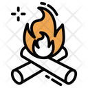 Campfire Fire Flame Icon