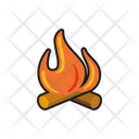 Log fire Icon