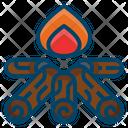 Fire Bonfire Camp Icon