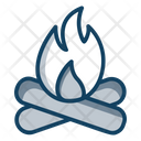 Fire Fireplace Wood Fire Icon