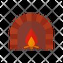 Bonfire Fire Warmer Icon