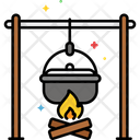 Mcampfire Cooking Bonfire Campfire Icon