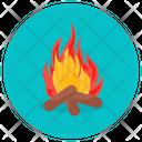 Fireplace Fireside Firelamp Icon