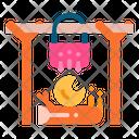 Bonfire Burn Camping Icon