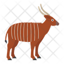 Bongo Hoofed Animal Icon