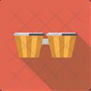 Bongo Percussion Rhythm Icon