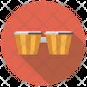 Bongos Percussion Drum Icon
