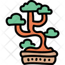 Garden Tree Japanese Icon