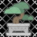 Bonsai Japan Plant Icon