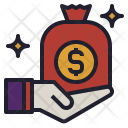 Bonus Money Bag Icon