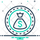 Bonus Superprofit Salary Icon
