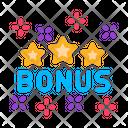 Bonus Star Logo Icon