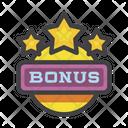Bonus Prize Premium Icon