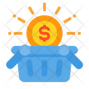 Basket Shopping Basket Money Icon