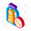 Glass Jar Water Icon