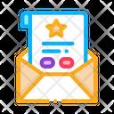 Bonus Sheet Letter Icon