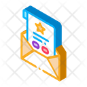 Letter Sheet Blank Icon