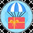 Bonus Parcel Balloon Delivery Air Balloon Delivery Icon