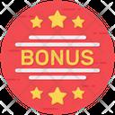 Bonus Sign Bonus Symbol Bonus Emblem Icon