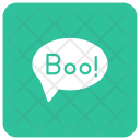 Boo Bubble Scary Icon