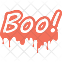 Boo Ghost Halloween Icon