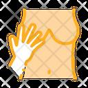 Hand Touching Boobs Icon