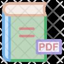 Book Pdf File Icon