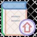 Book Upload Streamline Icon