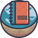 Book Dairy Contact Icon