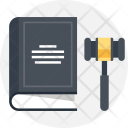 Book Gavel Government Icon